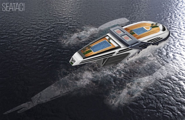 This $100 Million Superyacht Mimics the Movements of a Whale superyacht This $100 Million Superyacht Mimics the Movements of a Whale SuperYacht Capa