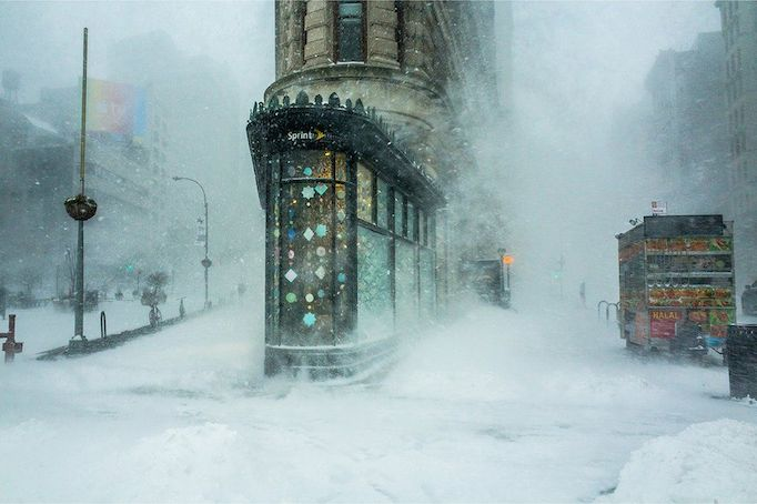 architecture photos architecture photos Most Incredible Architecture Photos from 2016 92947488 4 flatiron building in a snowstorm by michelle palazzo