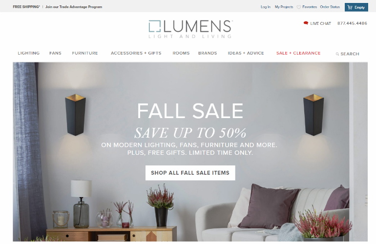 8 Online Lighting Stores That Will Give You The Best Discounts
