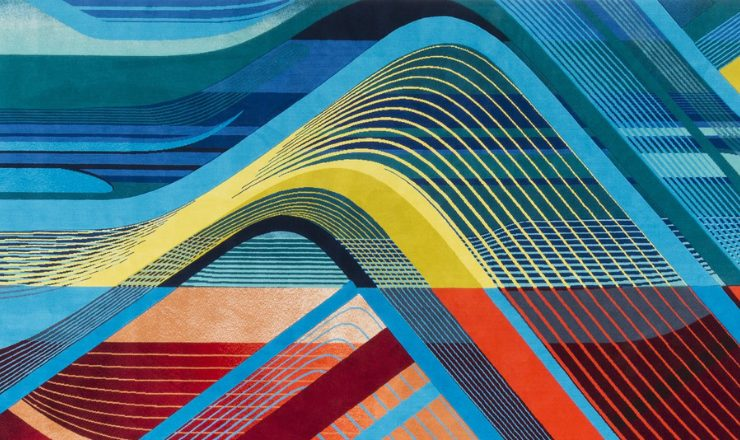 Discover The RE/Form Carpet Collection by Zaha Hadid Design For Royal Thai feat 22 740x440