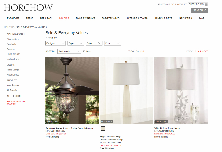Online Lighting Stores 8 Online Lighting Stores That Will Give You The Best Discounts horchow sale