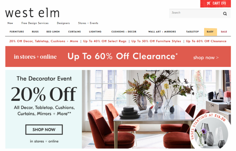 Online Lighting Stores 8 Online Lighting Stores That Will Give You The Best Discounts west elm sale