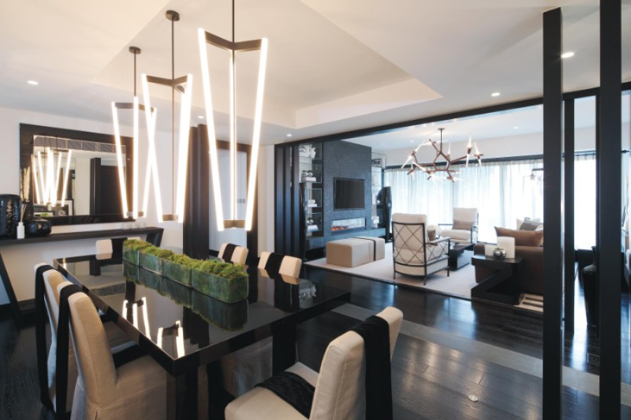 kelly hoppen Incredible Dining Rooms Designed by Kelly Hoppen canva photo editor 27