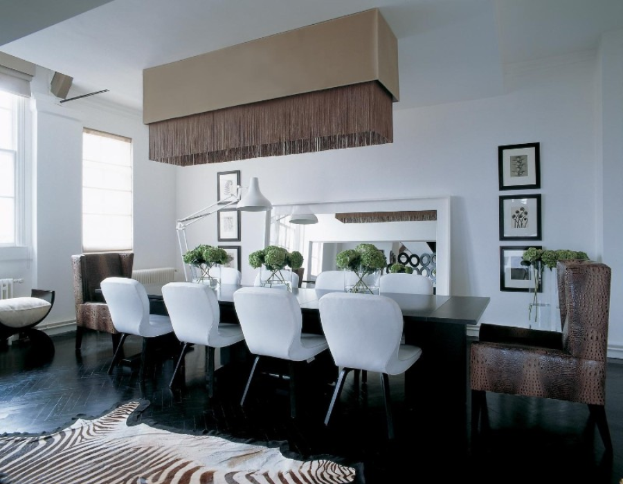 kelly hoppen Incredible Dining Rooms Designed by Kelly Hoppen canva photo editor 28