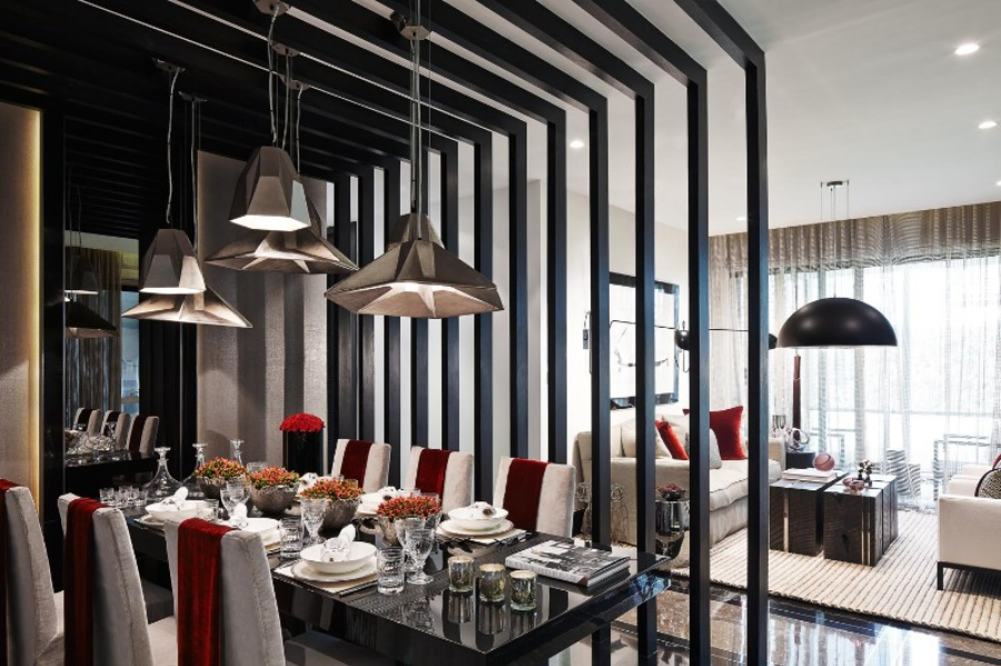 kelly hoppen Incredible Dining Rooms Designed by Kelly Hoppen canva photo editor 30