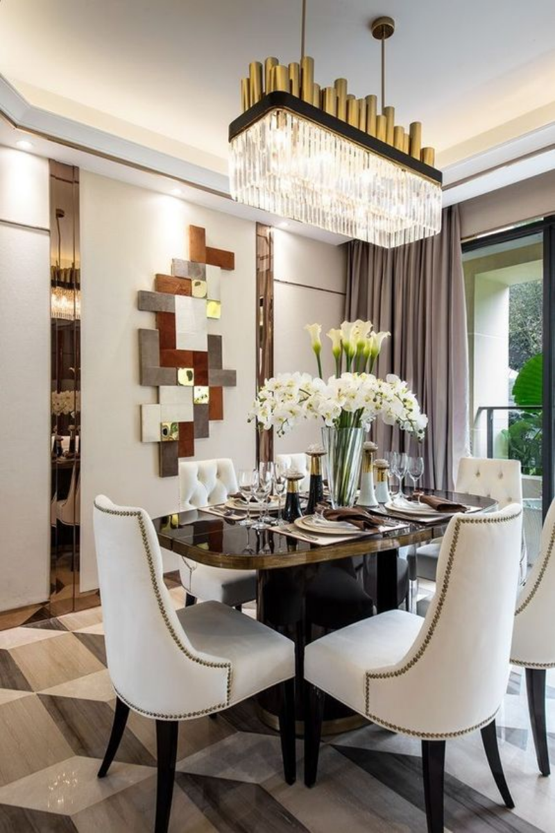 chandeliers 10 Dining Room Chandeliers You'll Want In Your Decor 10 Dining Room Chandeliers You   ll Want In Your Decor 2
