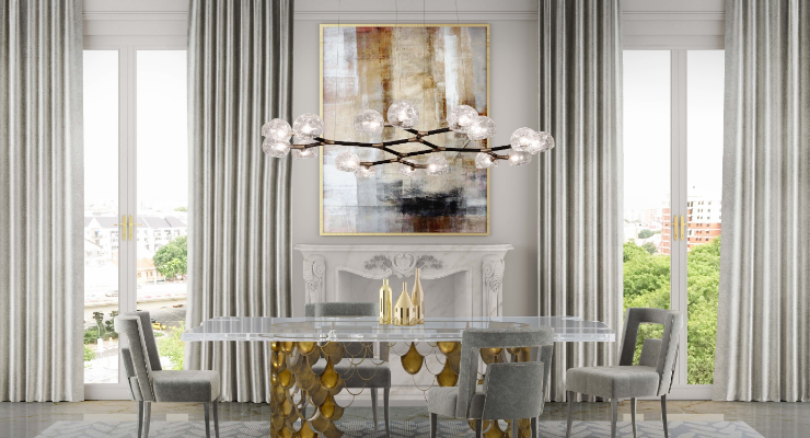 chandeliers 10 Dining Room Chandeliers You'll Want In Your Decor 10 Dining Room Chandeliers You   ll Want In Your Decor 4 1 740x400  home 10 Dining Room Chandeliers You E2 80 99ll Want In Your Decor 4 1 740x400